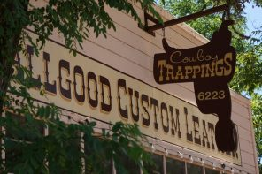 Rising Beyond the Necessities at the Allgood Custom Leather Shop in Creston