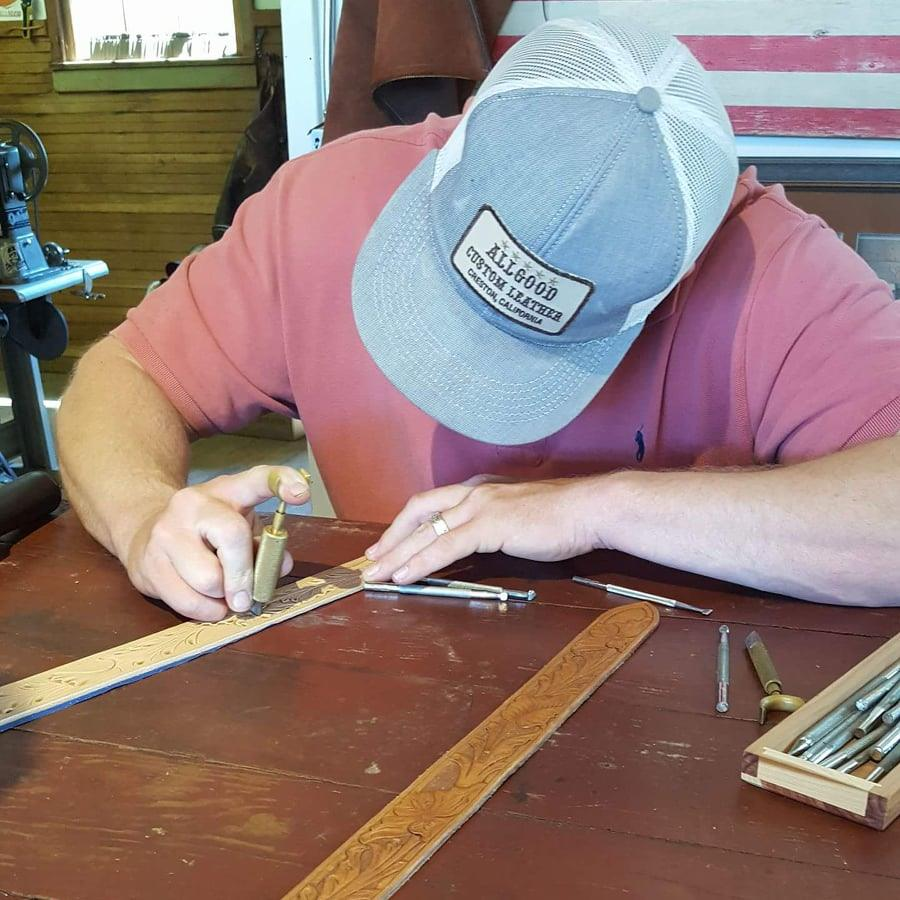 Rising Beyond the Necessities at the Allgood Custom Leather Shop in Creston  | SLO Horse News