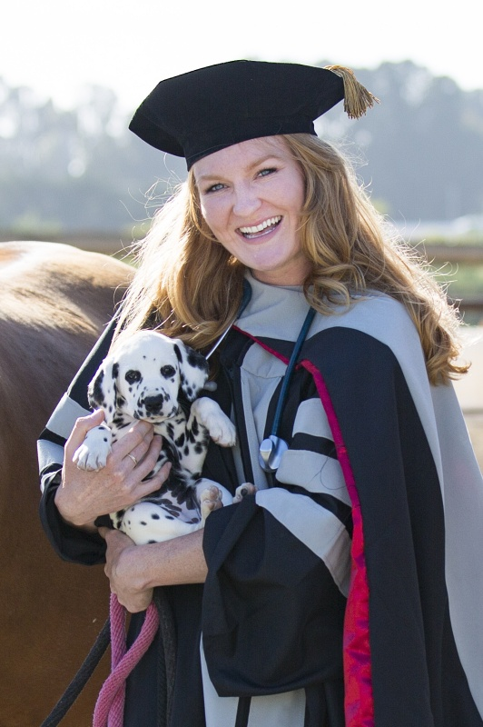 To, Through and Back to SLO County : A Newly-Minted Veterinarian's Journey  | SLO Horse News