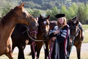 To, Through and Back to SLO County : A Newly-Minted Veterinarian's Journey
