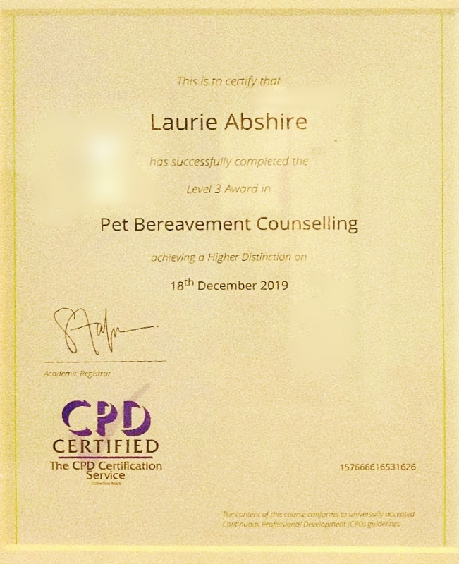 Sealing Memories: The Importance of a Pet Bereavement Counselor | SLO Horse News