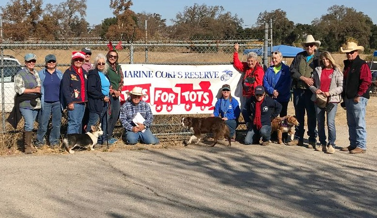 Gathering Toys as Usual: Toys for Tots Trail Ride is Modified  | SLO Horse News