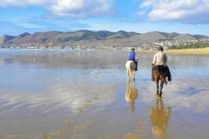 Riding a Horse on Pismo Beach: California Dreamin'