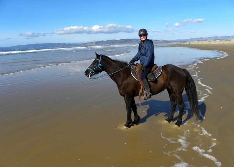 Riding a Horse on Pismo Beach: California Dreamin'  | SLO Horse News