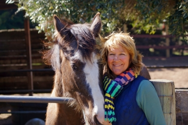 Horses Provide Help and Encouragement : Velvet Noses Horse Ministry