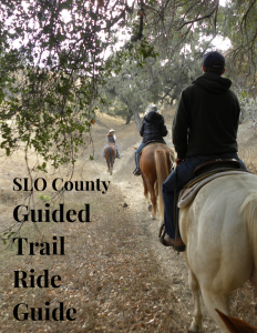 SLO County Guided Trail Ride Guide